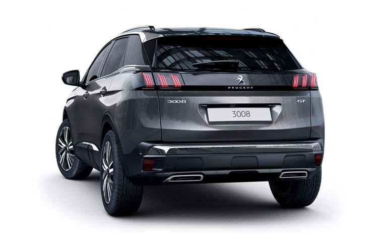 Peugeot 3008 SUV 1.5 BlueHDi 130PS Active 5Dr Manual [Start Stop] back view