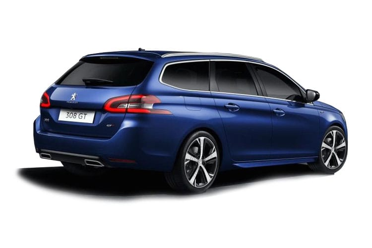 Peugeot 308 SW 5Dr 1.5 BlueHDi 130PS GT Premium 5Dr EAT8 [Start Stop] back view