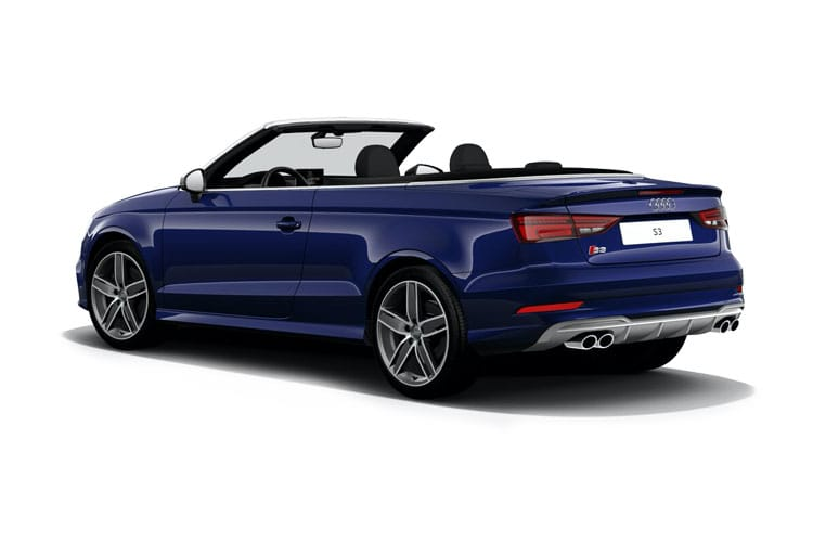 Audi A3 40 Cabriolet quattro 2Dr 2.0 TFSI 190PS S line 2Dr S Tronic [Start Stop] back view