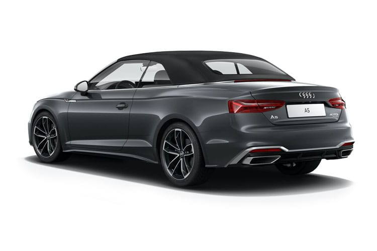 Audi A5 40 Cabriolet 2Dr 2.0 TFSI 204PS S line 2Dr S Tronic [Start Stop] [Comfort Sound] back view