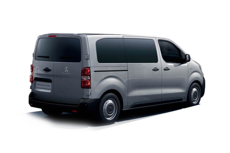 Peugeot Expert Combi Compact M1 1.5 BlueHDi FWD 100PS  Combi Manual [Start Stop] [5Seat] back view