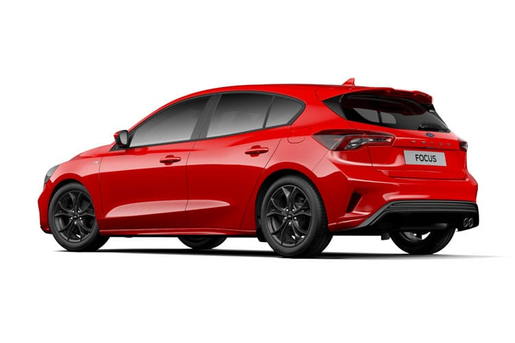 Ford Focus Hatch 5Dr 1.0 T EcoBoost MHEV 125PS Active Edition 5Dr Manual [Start Stop] back view