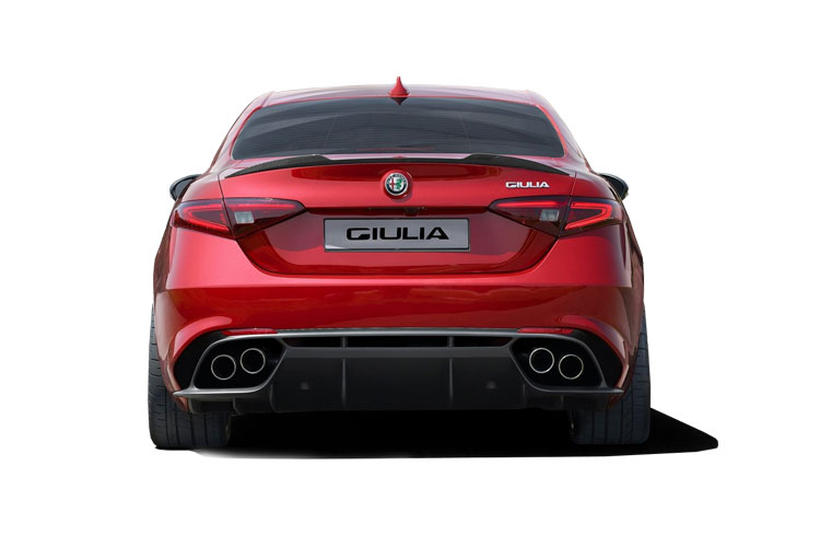 Alfa Romeo Giulia Saloon 2.0 T 200PS Lusso Ti 4Dr Auto [Start Stop] back view