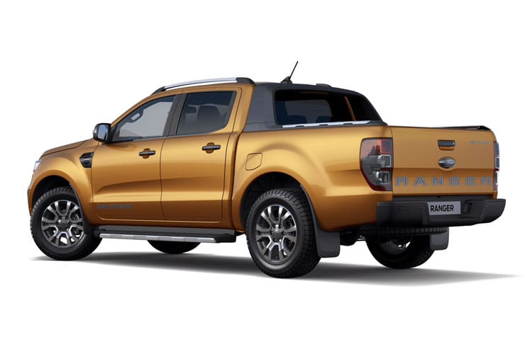Ford Ranger PickUp Double Cab 4wd 2.0 EcoBlue 4WD 213PS Limited Pickup Double Cab Manual back view