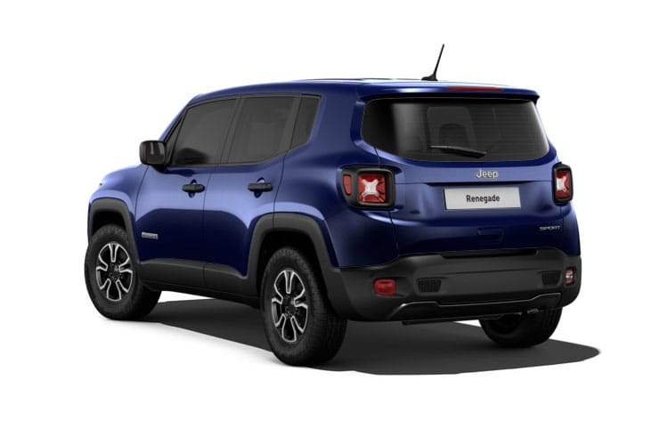 Jeep Renegade SUV 1.3 GSE T4 150PS Night Eagle 5Dr DDCT [Start Stop] back view