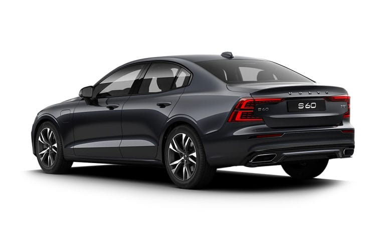 Volvo S60 Saloon AWD PiH 2.0 h T8 11.6kWh 405PS Polestar Engineered 4Dr Auto [Start Stop] back view