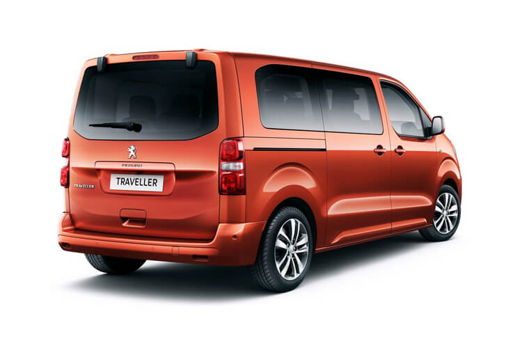 Peugeot Traveller e-Traveller Long 5Dr Elec 50kWh 100KW FWD 136PS Active MPV Auto [8Seat 7.4kW Charger] back view