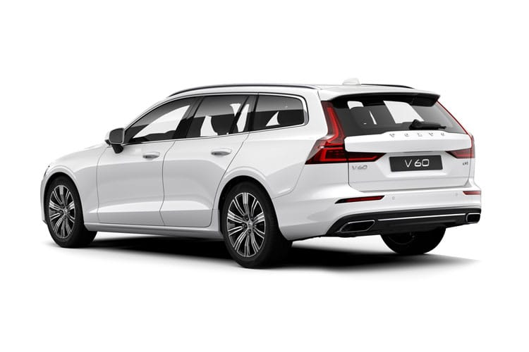 Volvo V60 Estate AWD PiH 2.0 h T6 11.6kWh 340PS R DESIGN 5Dr Auto [Start Stop] back view