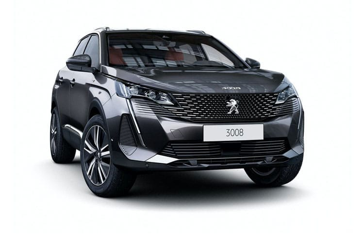 Peugeot 3008 SUV 1.5 BlueHDi 130PS Active 5Dr Manual [Start Stop] front view