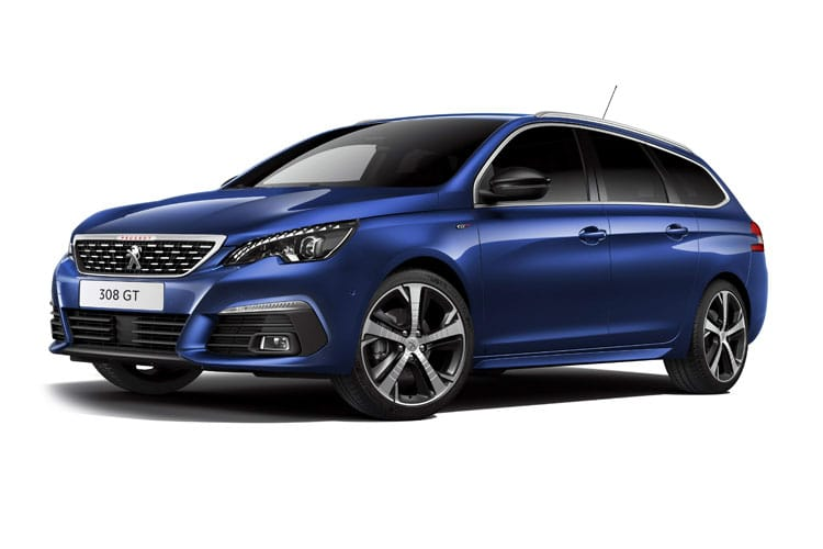 Peugeot 308 SW 5Dr 1.5 BlueHDi 130PS GT Premium 5Dr EAT8 [Start Stop] front view