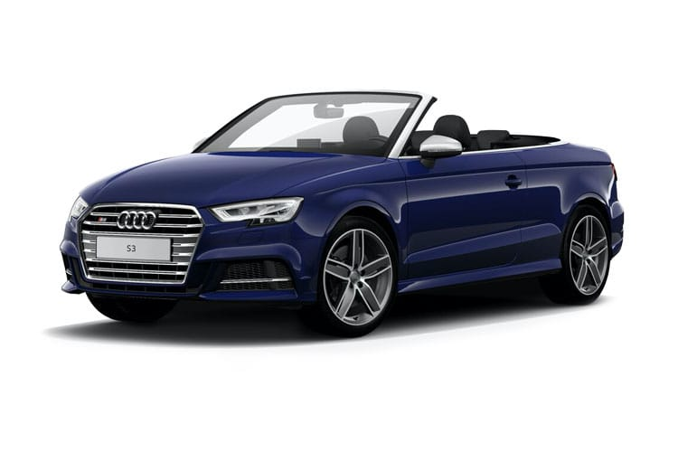 Audi A3 40 Cabriolet quattro 2Dr 2.0 TFSI 190PS S line 2Dr S Tronic [Start Stop] front view
