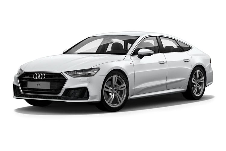 Audi A7 45 Sportback quattro 5Dr 3.0 TDI V6 245PS Black Edition 5Dr S Tronic [Start Stop] front view