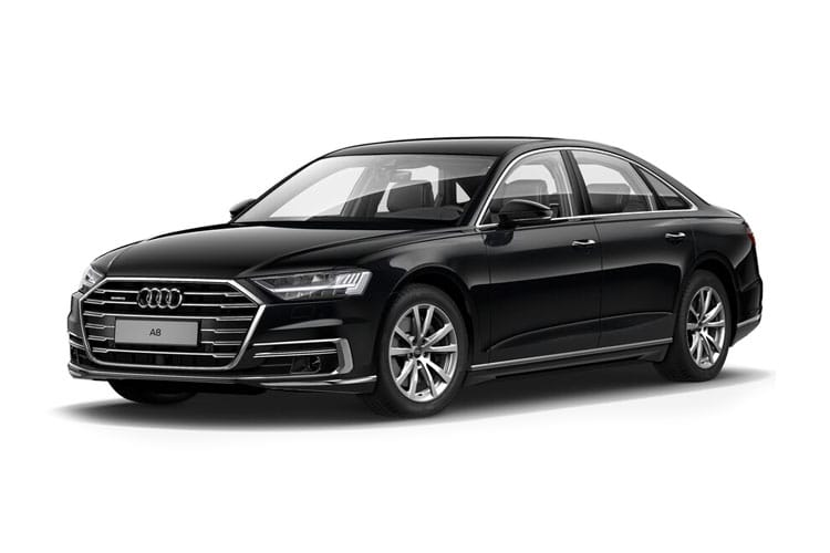 Audi A8 50 Saloon quattro 4Dr 3.0 TDI V6 286PS Black Edition 4Dr Tiptronic [Start Stop] [Comfort Sound] front view