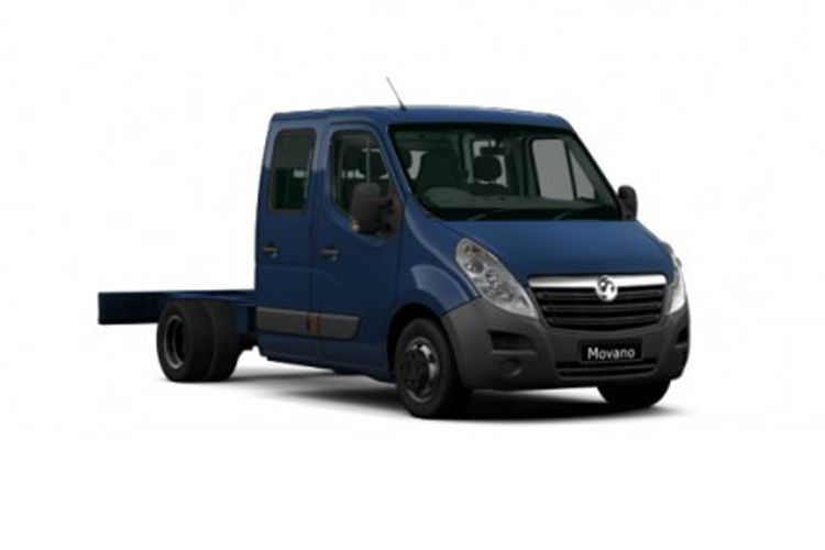 Vauxhall Movano HGV R45DRW L2 2.3 CDTi BiTurbo DRW 165PS  Chassis Cab Manual [Start Stop] front view