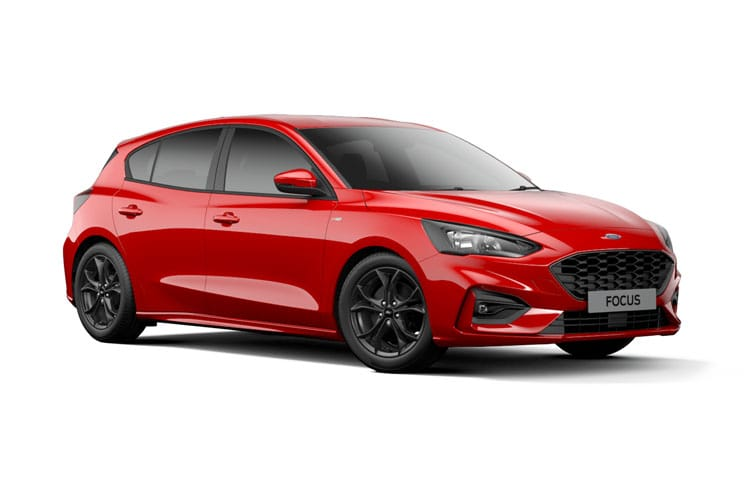 Ford Focus Hatch 5Dr 1.0 T EcoBoost MHEV 125PS Titanium Edition 5Dr Manual [Start Stop] front view