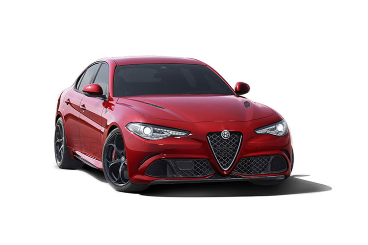 Alfa Romeo Giulia Saloon 2.2 TD 180PS Super 4Dr Auto [Start Stop] front view