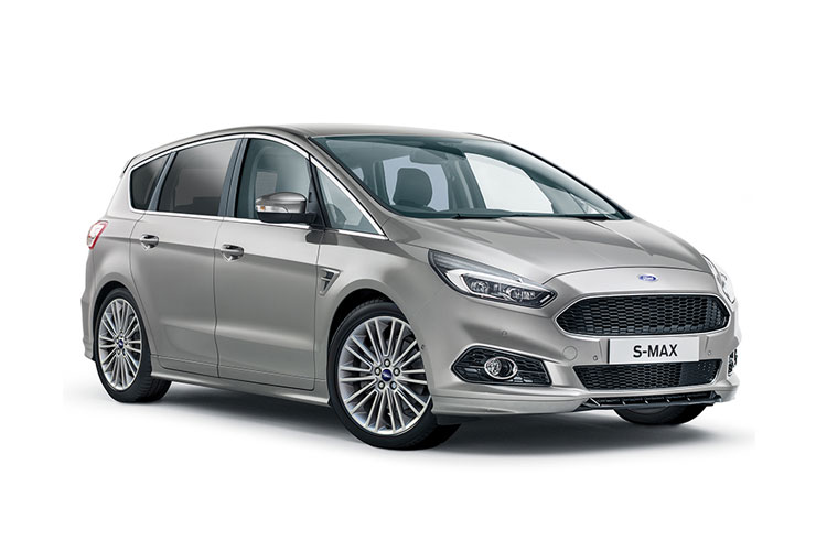 Ford S-MAX MPV 2.0 EcoBlue 190PS ST-Line 5Dr Auto [Start Stop] front view