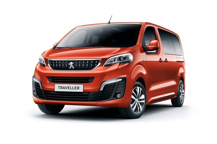 Peugeot Traveller Standard 5Dr 2.0 BlueHDi FWD 120PS Business MPV EAT [Start Stop] [8Seat] front view