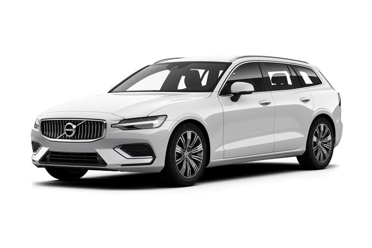 Volvo V60 Estate AWD PiH 2.0 h T6 11.6kWh 340PS R DESIGN 5Dr Auto [Start Stop] front view