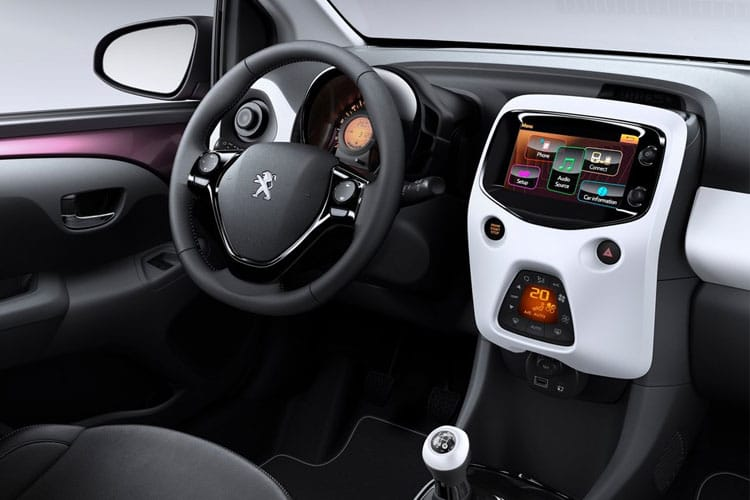 Peugeot 108 Hatch 5Dr 1.0  72PS Collection 5Dr Manual [Start Stop] inside view