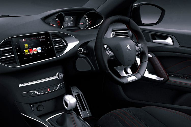 Peugeot 308 SW 5Dr 1.5 BlueHDi 130PS GT Premium 5Dr EAT8 [Start Stop] inside view