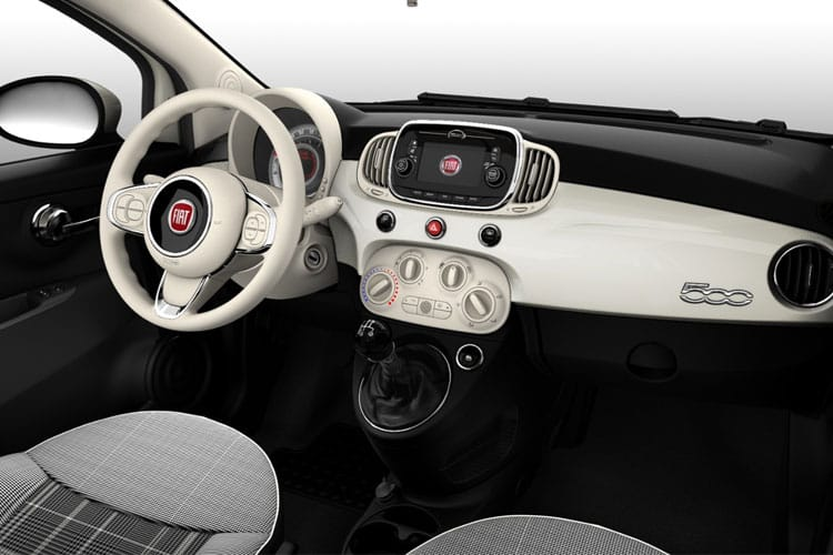 Fiat 500 C Convertible 1.0 MHEV 70PS Sport 2Dr Manual [Start Stop] inside view