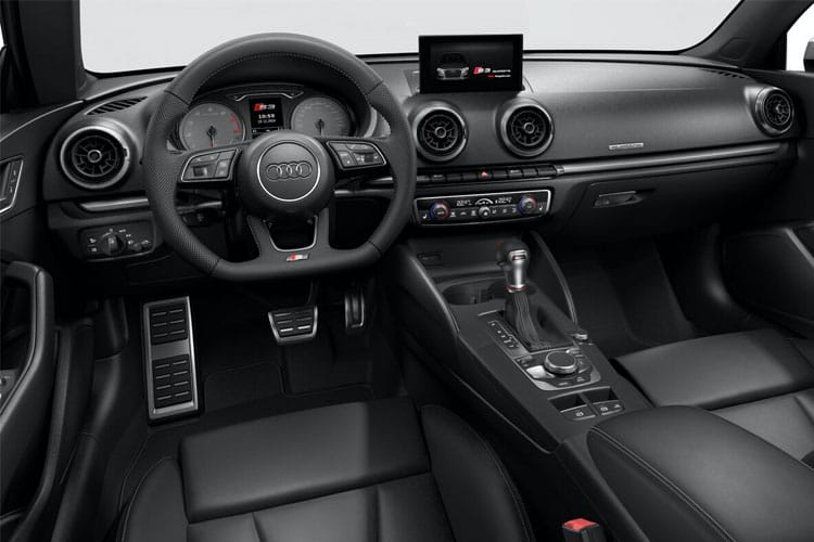 Audi A3 40 Cabriolet quattro 2Dr 2.0 TFSI 190PS S line 2Dr S Tronic [Start Stop] inside view