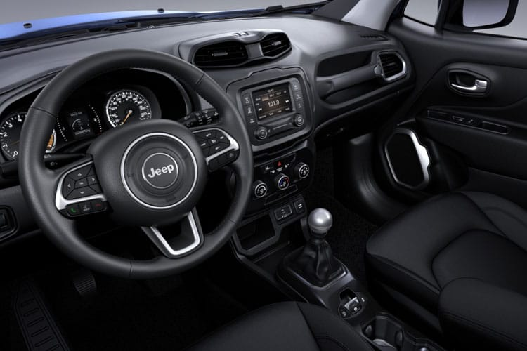 Jeep Renegade SUV 1.3 GSE T4 150PS Night Eagle 5Dr DDCT [Start Stop] inside view