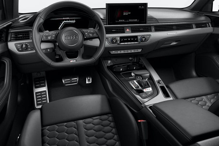 Audi A4 40 Avant 5Dr 2.0 TFSI 204PS Black Edition 5Dr S Tronic [Start Stop] [Comfort Sound] inside view