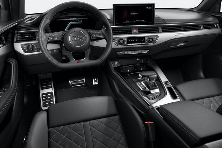 Audi A4 45 Saloon quattro 4Dr 2.0 TFSI 265PS Black Edition 4Dr S Tronic [Start Stop] [Comfort Sound] inside view