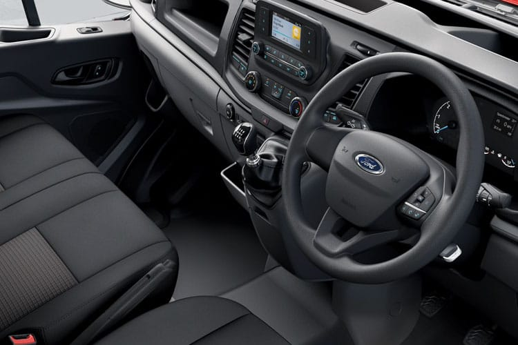 Ford Transit 350 L3 RWD 2.0 EcoBlue RWD 130PS Leader Chassis Double Cab Manual [Start Stop] inside view