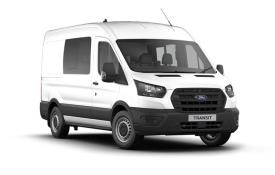 Ford Transit Crew Van 350 L2 2.0 EcoBlue FWD 130PS Leader Crew Van Medium Roof Manual [Start Stop] [DCiV]